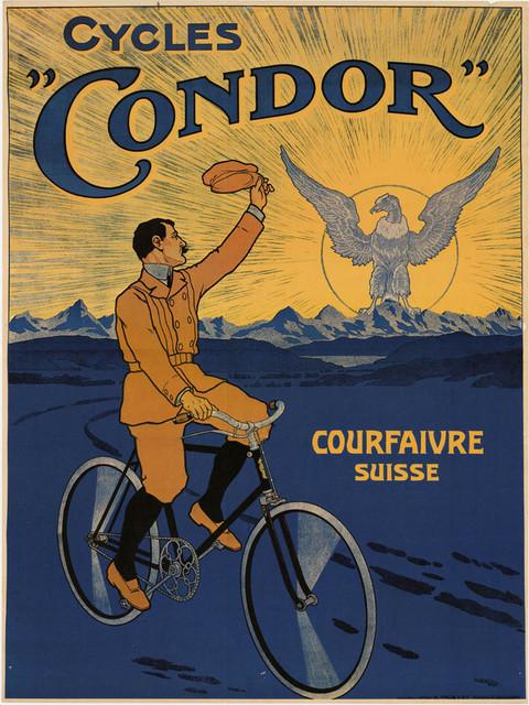 Ancienne affiche Condor