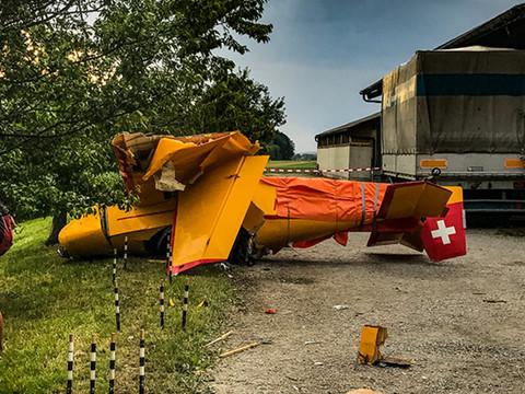 Crash pf ffikon zh pilote et instructeur pas encore for Innendekoration pfaffikon zh