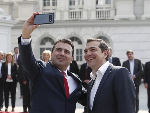 Visite Historique Du Premier Ministre Grec A Skopje