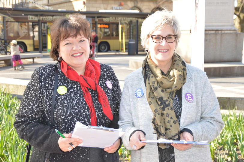 Soins infirmiers, initiative, récolte de signatures, Neuchâtel