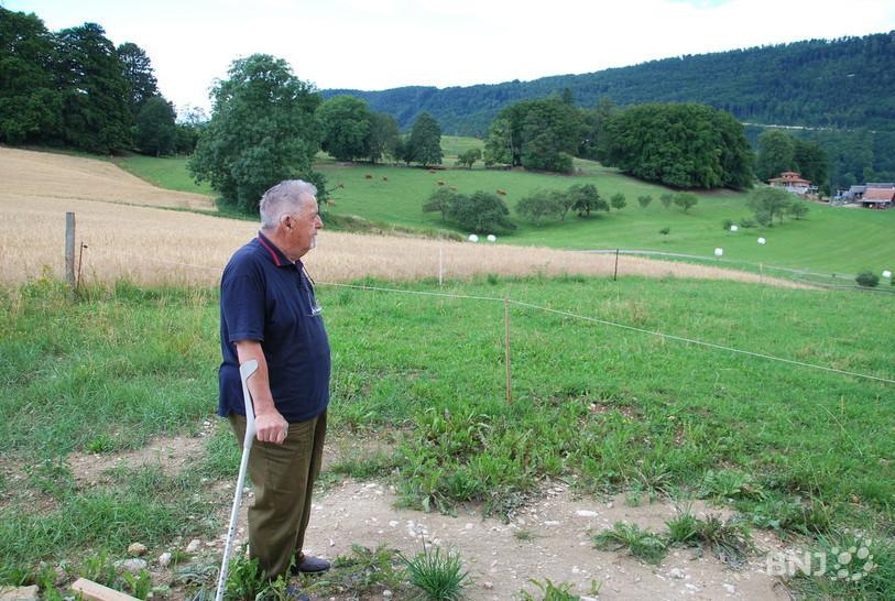 Francis Benoit, ornithologue, ancien maire et doyen de Romont