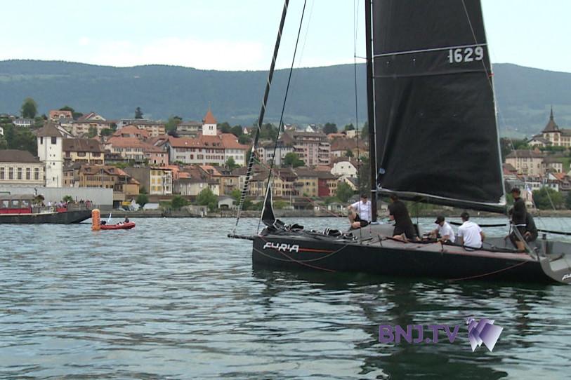 Christian Biedermann et son bateau Furia remportent le challenge monocoque du Bol d'Or Henri Lloyd 2018.