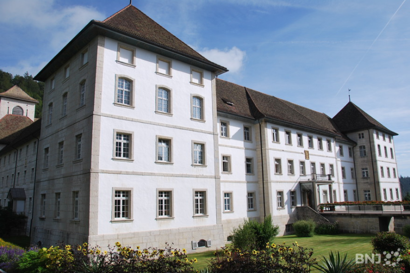 Le siège du Département pôle santé mentale de l'HJB, à Bellelay.