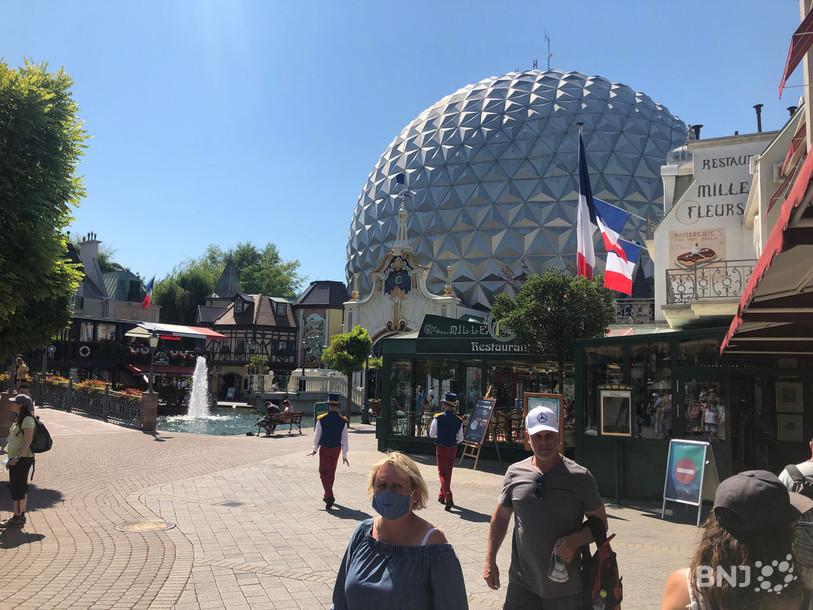 Europapark Maske