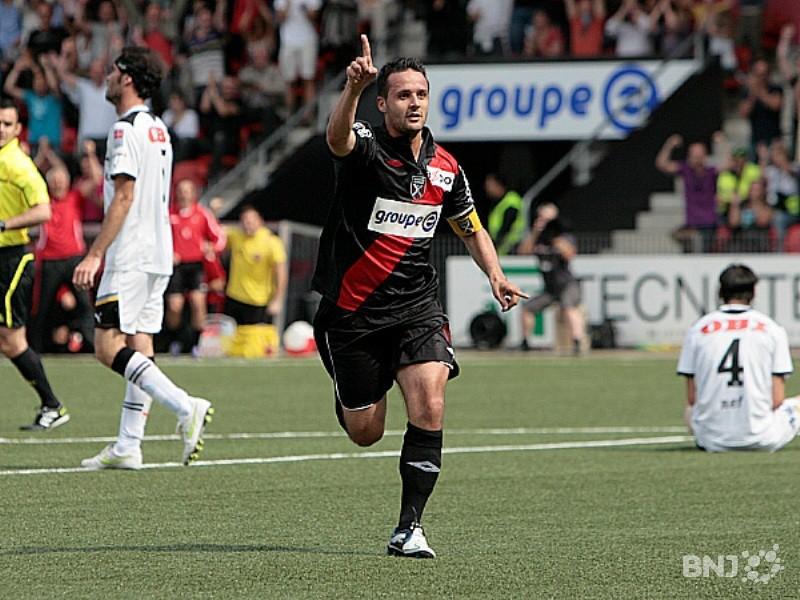 Cinq ans après son départ de Xamax, Raphaël Nuzzolo fait son retour sous le chandail « rouge et noir ». (photo : archives)