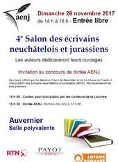 4ème Salon des écrivains neuchâtelois et jurassiens