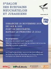 Salon des Ecrivains Neuchâtelois et Jurassiens
