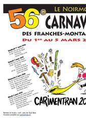 56ème Carnaval des Franches-Montagnes