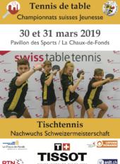 Championnat Suisse Jeunesse de tennis de table