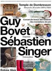 Concert en faveur des sinistrés du VDR