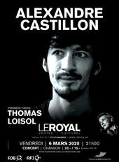 Concert d'Alexandre Castillon au Royal