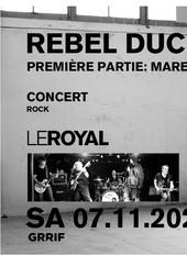 Rebel Duck en concert au Royal