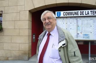 Remo Siliprandi, conseiller général de la Tène