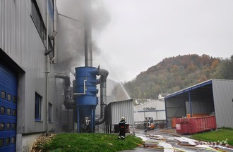 Incendie à l'usine Benteler à St-Ursanne