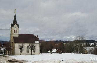 L'église de la Ferrière