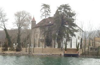 Le château de Thielle