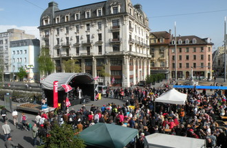 Manifestation du 1er mai Bienne