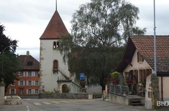 Le temple de Cornaux