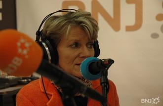 Anita Rion, présidente du comité d'organisation du salon