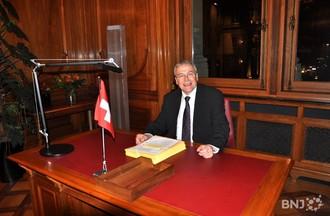 Claude Hêche, bureau du président