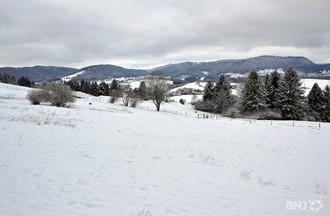 Premières neiges à la vallée de Tavannes