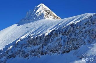 """Vue du domaine """"Glacier 3000"""""""
