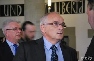 Pierre-Alain Schnegg au Rathaus