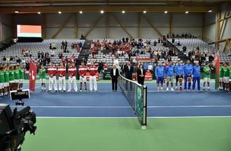Coupe Davis, Suisse-Biélorussie, Bienne