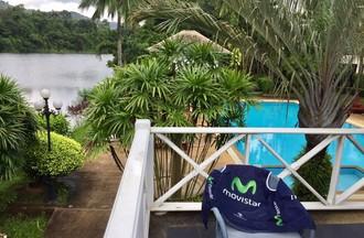 La vue depuis Pucket en Thaïlande