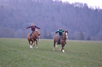 Pour Laura, les plus beaux jours se passent à cheval