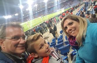 Suisse - Hongrie pour Cathy et sa famille