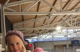Franz était au match de hockey Le Mouret- Delémont Vallée