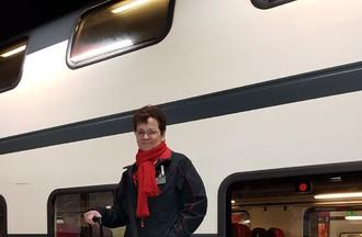 Tous les jours dans le train