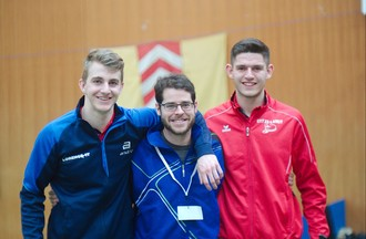 Yoan Rebetez, Sébastien Egger, Gaël Vendé