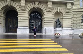 Visite pluvieuse à Berne