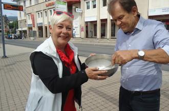 Avec Pierre Studer nous devions faire une crème chantilly