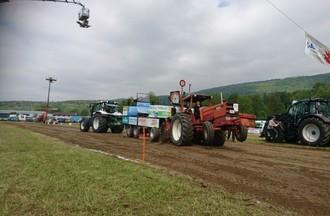 Activité d'été: le tracteur pulling