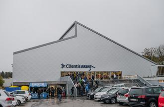 La nouvelle Clientis Arena