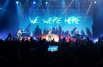 Danielle était au concert de  Nightwish à l'Arèna de Genève 🤘