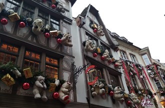 Marché de Noël de Strasbourg pour Antonia