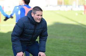 L'entraîneur du FC Moutier Alain Villard