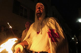 Médiévales de St-Ursanne, Cortège nocturne