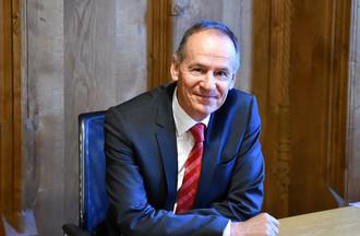 Christian Kräuchi, Christian Kräuchi, chargé de communication du Conseil-exécutif