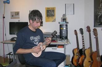 Sébastien Fulgido dans son lieu de travail