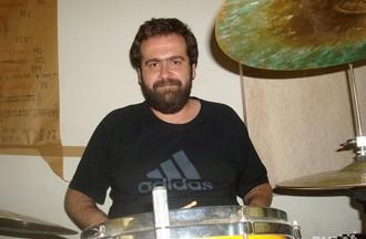 Jean-Yves à la batterie