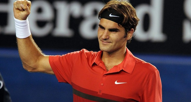Federer continue sur sa lancée
