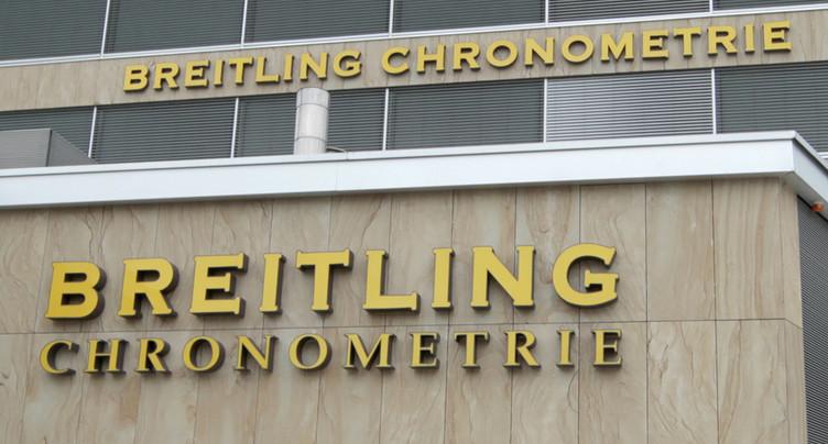 Breitling passe en mains britanniques