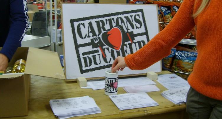 Journée de solidarité pour les Cartons du cœur