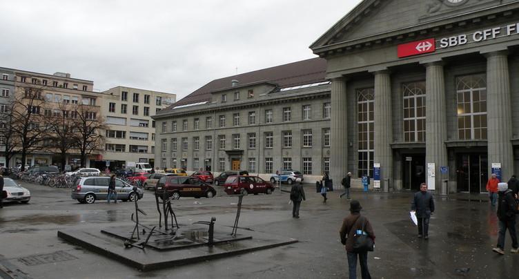 Accident en gare de Bienne