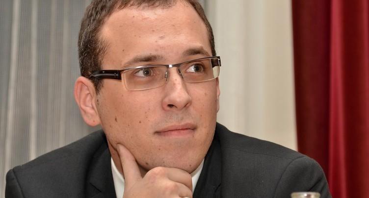 Julien Loichat en course pour la mairie de Porrentruy